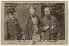 William Bell Scott, John Ruskin and Dante Gabriel Rossetti