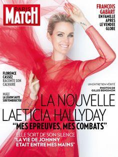 N° 3324 de Paris Match du 31 janvier 2013, édition iPad, avec Laeticia Hallyday en une.