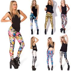 New Womens Leggings Stretchy Sexy Ladies Jeggings Pencil Tights Pencil Pants  #NEW