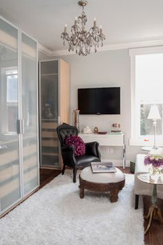 Gwynne Master Bedroom and Lounge - modern - closet - toronto - Claire Jefford at Creating Contrast Designs