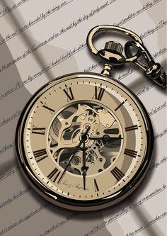 Zlpka 😜 , Old Clock Tattoo, Vintage Clock Tattoos, Clock Tattoo Design, Tattoo Designs, Pocket Watch Drawing, Pocket Watch Tattoos, Pocket Watch Tattoo Design, Celtic Tattoo Symbols, Celtic Tattoos