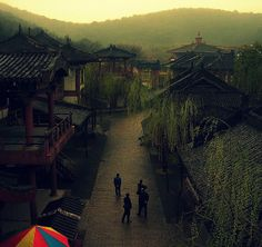 唐代村, China #travel #china