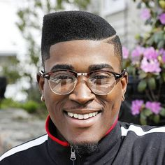 Graduated, elevated hair with partitions, fades, afro, and long with edgy outlines are some of the cool black men haircuts and black boys haircuts for Black Men Haircuts, Black Men Hairstyles, Cool Haircuts, Hairstyles Haircuts, High Top Fade Haircut, Flat Top Haircut, New Natural Hairstyles, Natural Hair Styles, Hard Part Haircut