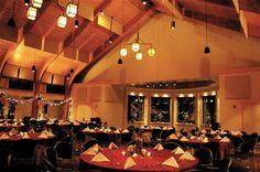 Evening Set up in Conference Center #WeddingVenue #Wedding #LoughridgeWeddings