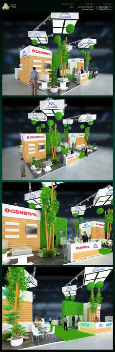 JAC exhibition booth design on Behance
