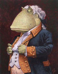 My name is Toadily Awesome Trump and don't you ever forget it! - C.F. Payne artist