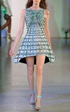 Peter Pilotto Spring/Summer 2014 Trunkshow Look 10 on Moda Operandi