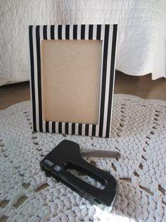 Tee-se-itse-naisen sisustusblogi: Fabric Covered Frame