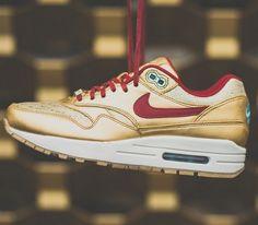 purchase cheap e4571 18a96 Nike WMNS Air Max 1 BHM – Metallic Gold