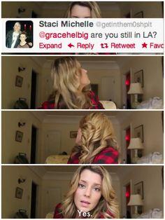 Grace Helbig  YouTubers #teaminternet