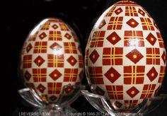 Ukrainian Easter Egg Pysanky PYS12-002  from the Lviv Region on AllThingsUkrainian.com