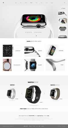 Web Design of 2014 Apple Watch Facelift by Michael MartinhoApple Watch Facelift by Michael Martinho Apple Tv, Apple Watch, Apple Menu, Web Design Gallery, News Web Design, Modern Web Design, App Design, Best Website Design, Promo Flyer