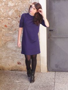 sew over it ultimate shift dress using knit fabric
