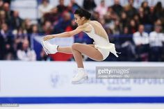 Ivett Toth of Hungary competes in the Ladies Free Skating during day 3 of the European Figure Skating Championships at Ostravar Arena on January 27, 2017 in Ostrava, Czech Republic.