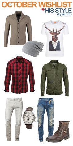 Was kann ER im Herbst tragen? Wir haben 9 Trendteile gefunden, die sich leicht kombinieren lassen: