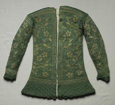 17th C. Italian knit silk jacket