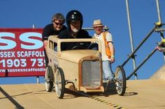 For those who want to soap box in style- The 32 sedan soapbox derby car Soap Box Derby Cars, Soap Box Cars, Soap Boxes, 1932 Ford, Best Kids Toys, Pedal Cars, Thing 1, Go Kart, Cars