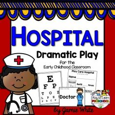 This dramatic play center includes everything you need to set up a fun, literacy-rich, organized, play-based Hospital or Doctor's Office in your Early Childhood classroom! Its perfect to use during a Health/Nutrition or Community Helpers unit. Dramatic Play Themes, Dramatic Play Area, Dramatic Play Centers, Fun Activities To Do, Preschool Activities, Community Helpers Preschool, Playing Doctor, Doctor Office, Play Based Learning