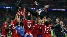 Bayern Munich head coach Jupp Heynckes - UEFA Champions League 2013