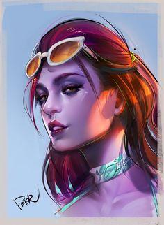 Overwatch Summer Games Widowmaker