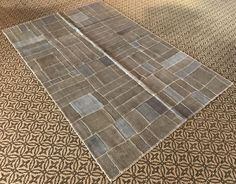 HEMP Rug Turkish Rug, Hemp PATCHWORK Carpet - Vintage Gray Rug -  Hemp Carpet - Blue and Grey Rug Decorative Area Rug - HEMP Floor Rug by istanbulcarpet on Etsy