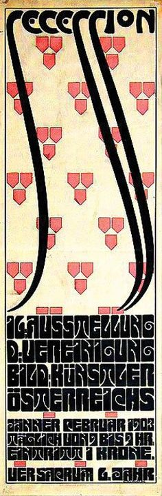 By Alfred Roller, 1902, Secession, Imp. Albert Berger.