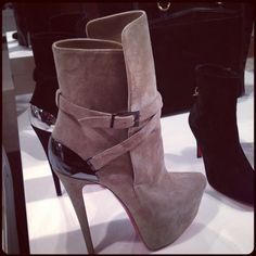 What a fierce bootie - love loubi! Check out more great products on free local shopping app Snapette - www.snapette.com/app