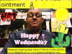 fresh bait daily @ pleasure angling tackle shop deal kent 3rd june