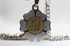 Allah Necklace Islamic Gift Koran Muslim Islam Koranic Design Quran Ayat Arabic