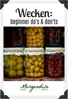 Wecken: beginner do's & don'ts ⋆ Mergendise