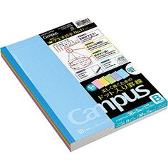 1 X Kokuyo Campus Todai Series Pre-Dotted Notebook - Semi X - 6 mm - 35  Lines X 30 Sheets - Pack of 5 Cover Colors  A set of 5 cover colors    Dotted rule  ... 34a6bc7b4c076