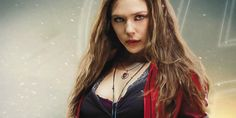 Elizabeth Olsen doesn't think a Scarlet Witch movie would be 'necessary' in the Marvel universe, while discussing Captain America: Civil War. Scarlet Witch Marvel, Scarlet Spider, Avengers Quiz, Avengers Age, Marvel News, Marvel Actors, Comic Costume, Elizabeth Olsen Scarlet Witch, Ultimate Marvel