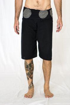Men's Harem Pants Men's Burner Clothing Men's Hippie by HighThai