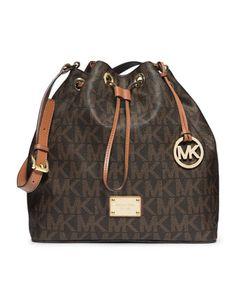 MICHAEL Michael Kors  Large Jules Drawstring Shoulder Bag. #shopping #cutefortraveling