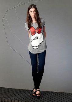 Cute printed tee Logitech, Mix Match, Printed, Tees, Cute, Clothes, Women, Outfits, T Shirts