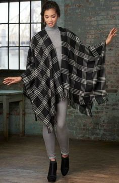 Jump-start your fall sewing with the latest patterns from Vogue and Simplicity. The season's focus is on ponchos, wraps, and capes.