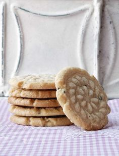 Lavender shortbread cookies - Back in the Day Bakery. Still drooling....but now I can do something about it!
