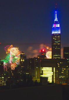 New York City Fireworks.