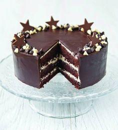 Facili Idee: MUD CAKE AMERICANA CON MASCARPONE E PANNA