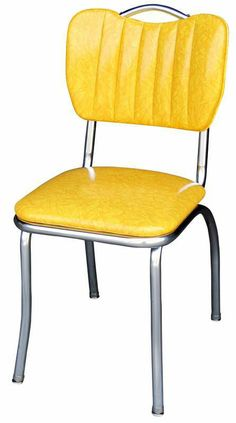 Diner Chair - Sully in Cracked Ice Yellow  *like this color!!!*