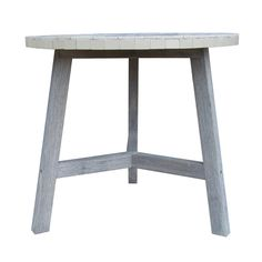Botanist NZ Cafe Table Mosaic White - $349