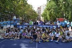 Día de la Comunidad Valencia en Xàtiva - Open de tenia 500 con los más jóvenes