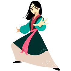 Mulan ❤ liked on Polyvore featuring disney and mulan