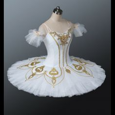 1005-Cabriole White Balet Tutu