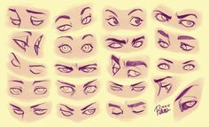 drawing Illustration eyes DIY tutorials art reference cartooning how to draw anime eyes cartoon eyes art instruction disney eyes character design reference anatomy for artists drawing lesson Realistic Eye Drawing, Drawing Tips, Drawing Reference, Drawing Drawing, Drawing Techniques, Anatomy Reference, Drawing Poses, Art Sketches, Art Drawings