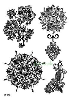 Lace Temporary Tattoos