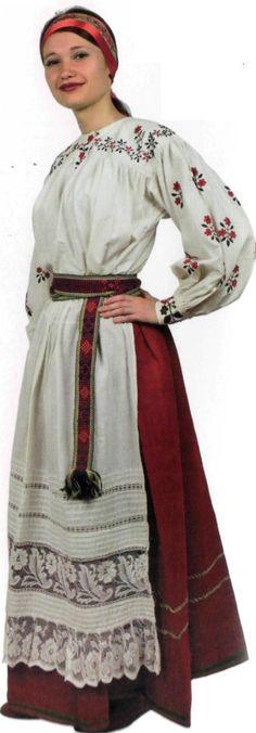 блузка в українському стилі