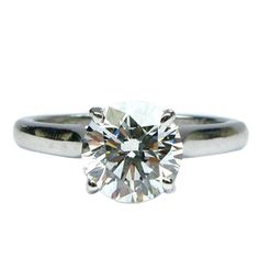 1.52ct G VVS2 Cartier Solitaire Diamond Ring #jbirnbach