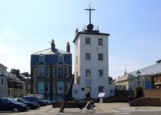 This is the time ball tower 0n the beach at Deal, Kent, where i am from. This was an early clock that seamen such as fishermen could see the time when out to sea by looking at the position of the ball, which dropped in relation to the time of day.