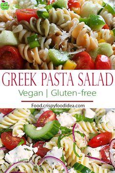 Greek Pasta Salad - For Keto Lunch
